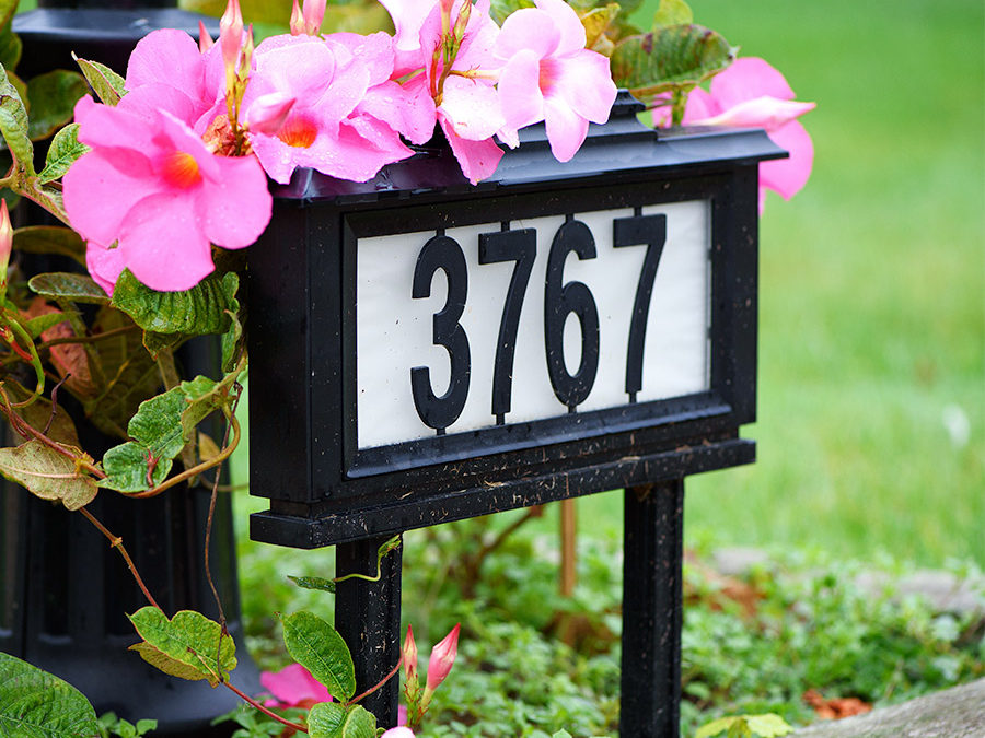 Make Your House Number Visible